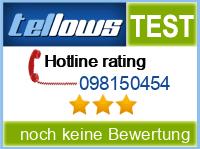tellows Bewertung 098150454